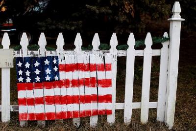 Flag Fence 2